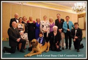 Irish Great Dane Club Committee 2012